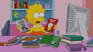 The Simpsons 24x04 : Gone Abie Gone- Seriesaddict